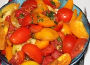 Bruce's Heirloom Tomato Salad - one of our catering items.