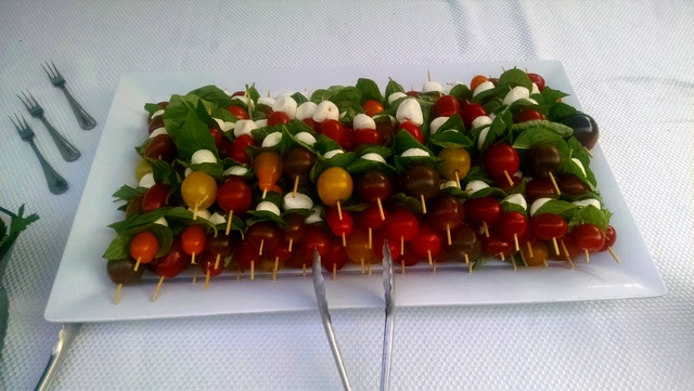 Pizza Truck Caprese Skewers 2015