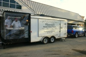 Pizza Truck Catering winter