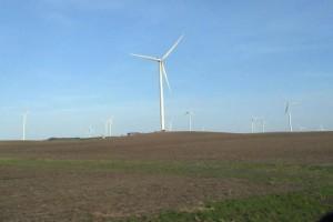 Pizza Truck Trail - Wind Farm in Illinios