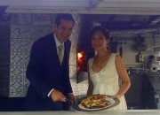Bride & Groom & Pizza Truck 2015