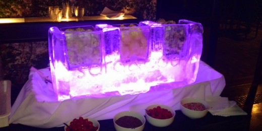 Purple Ice Sculpure Bar 2016