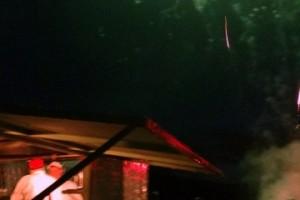 Pizza Truck Fireworks