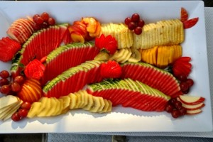 Fruit Platter 2017