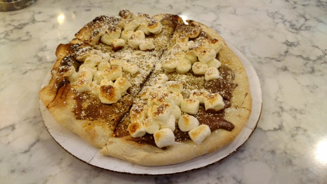 Smores Dessert Pizzetta 2017