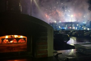 Wood Fired Oven Metlife Stadium 2018