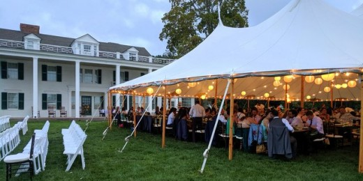 Wedding Tent Hill-Stead Museum 2019